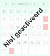 geen kalender